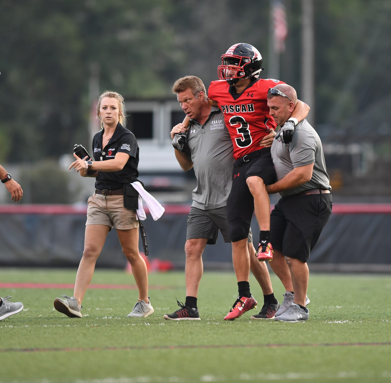 Pisgah's Wike 'day-to-day' after Week 1 injury