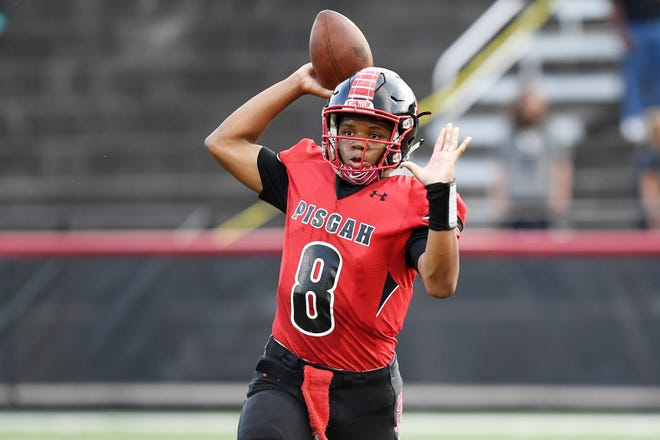 Pisgah defeated Murphy 15-8 August 17, 2018 in Canton.