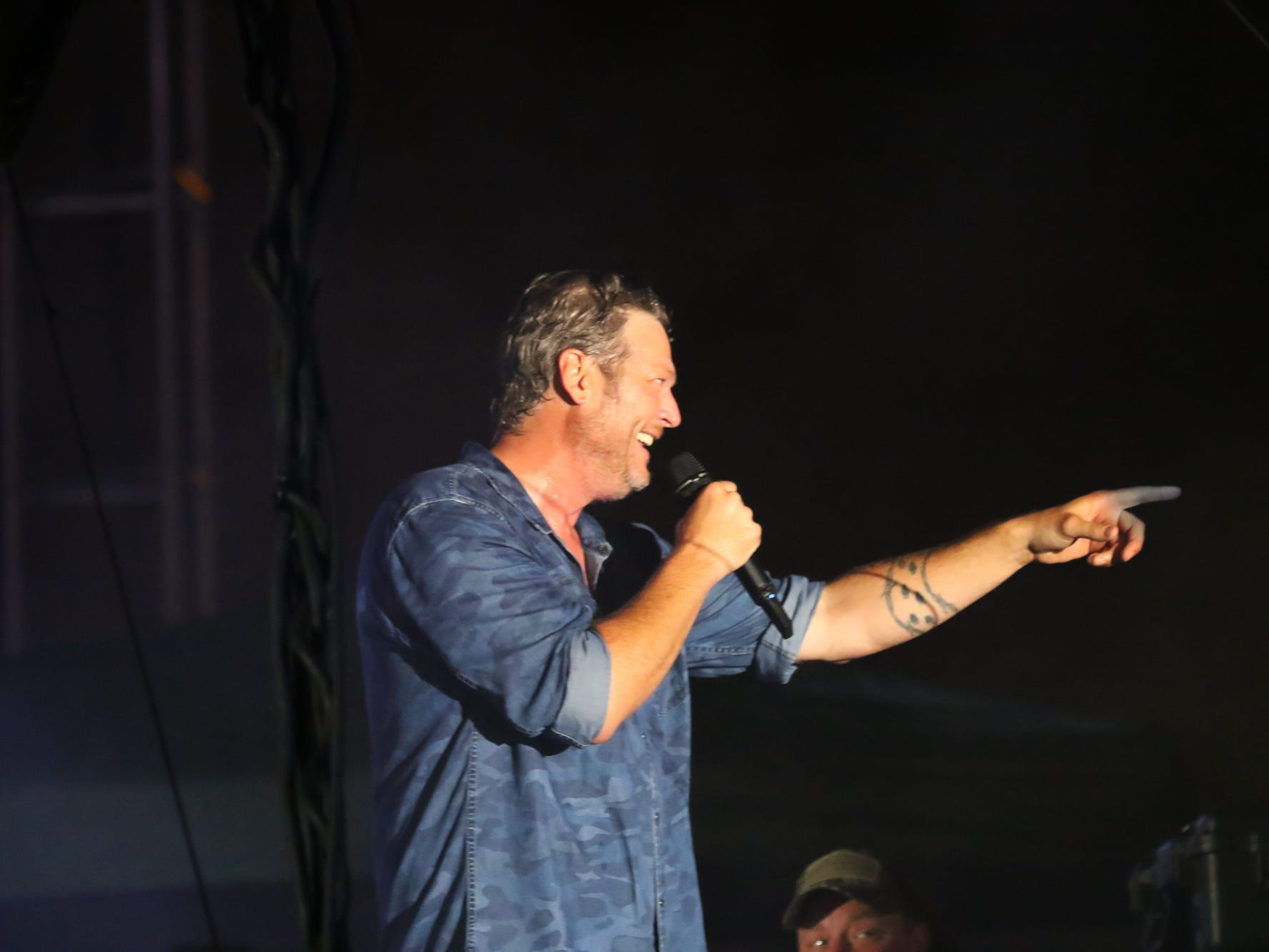 Fans turned out for the Blake Shelton concert at the Dick's Sporting Goods Open on Friday, Aug. 17, 2018.