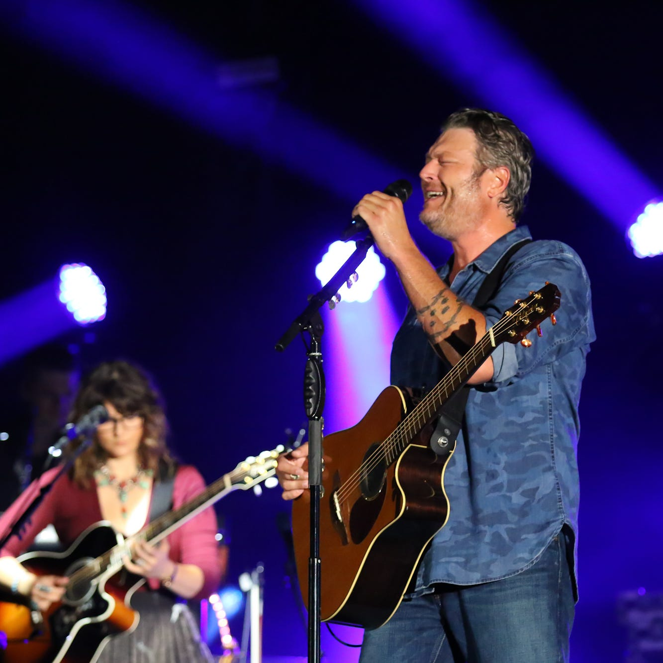 Blake Shelton thrills audience with 2-hour show at Dick's Open