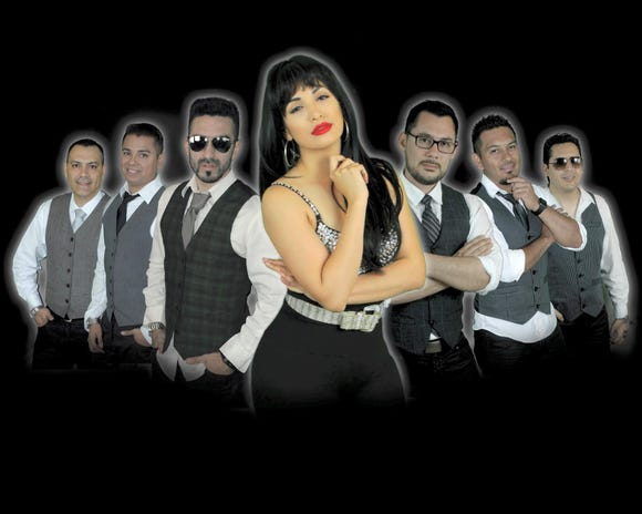 Los Chicos Del 512 perform their Selena tribute Aug. 30 at the Suquamish Clearwater Casino Resort.