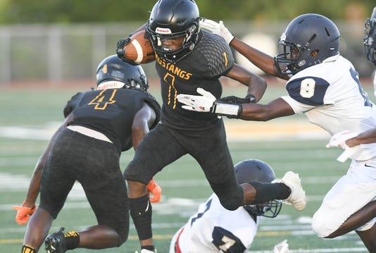 High School Football Eau Gallie At Merritt Island