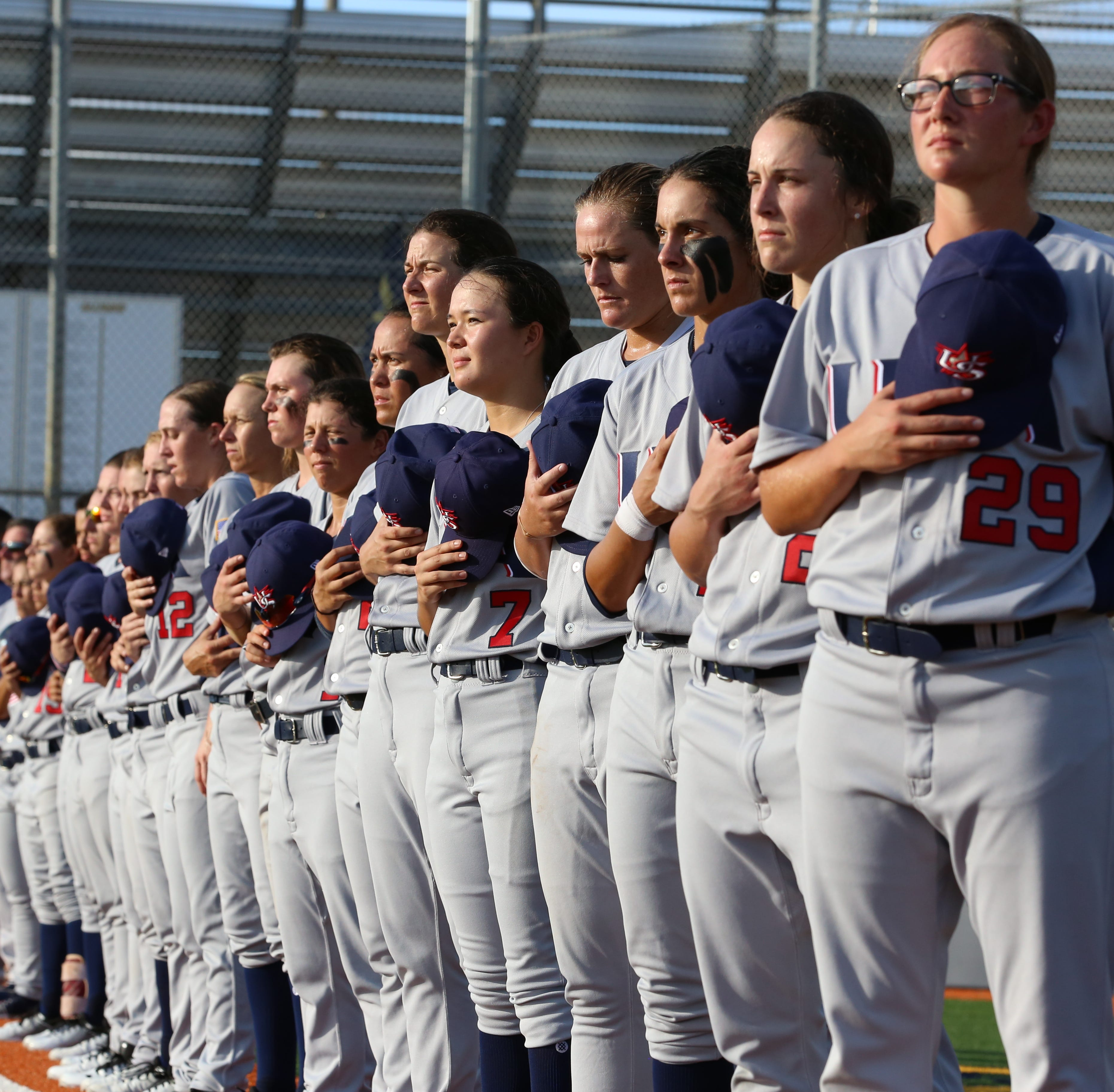 The top 20 women baseball players in the country represent Team USA at the 2018 Women's Baseball World Cup in Viera. The tournament begins Wednesday and runs through Aug. 31.