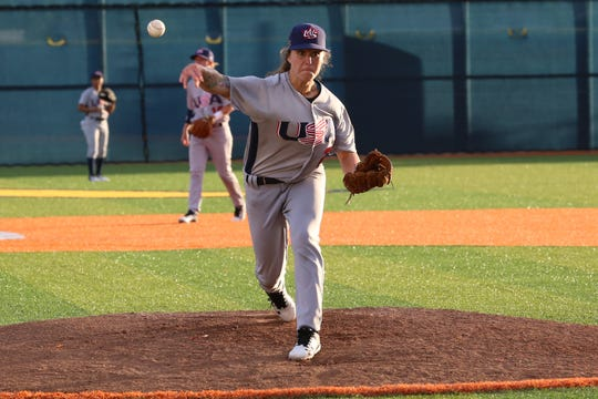 Pitchers like Sam Cobb can throw in the low to mid-80s for Team USA, according to pitching coach Veronica Alvarez.