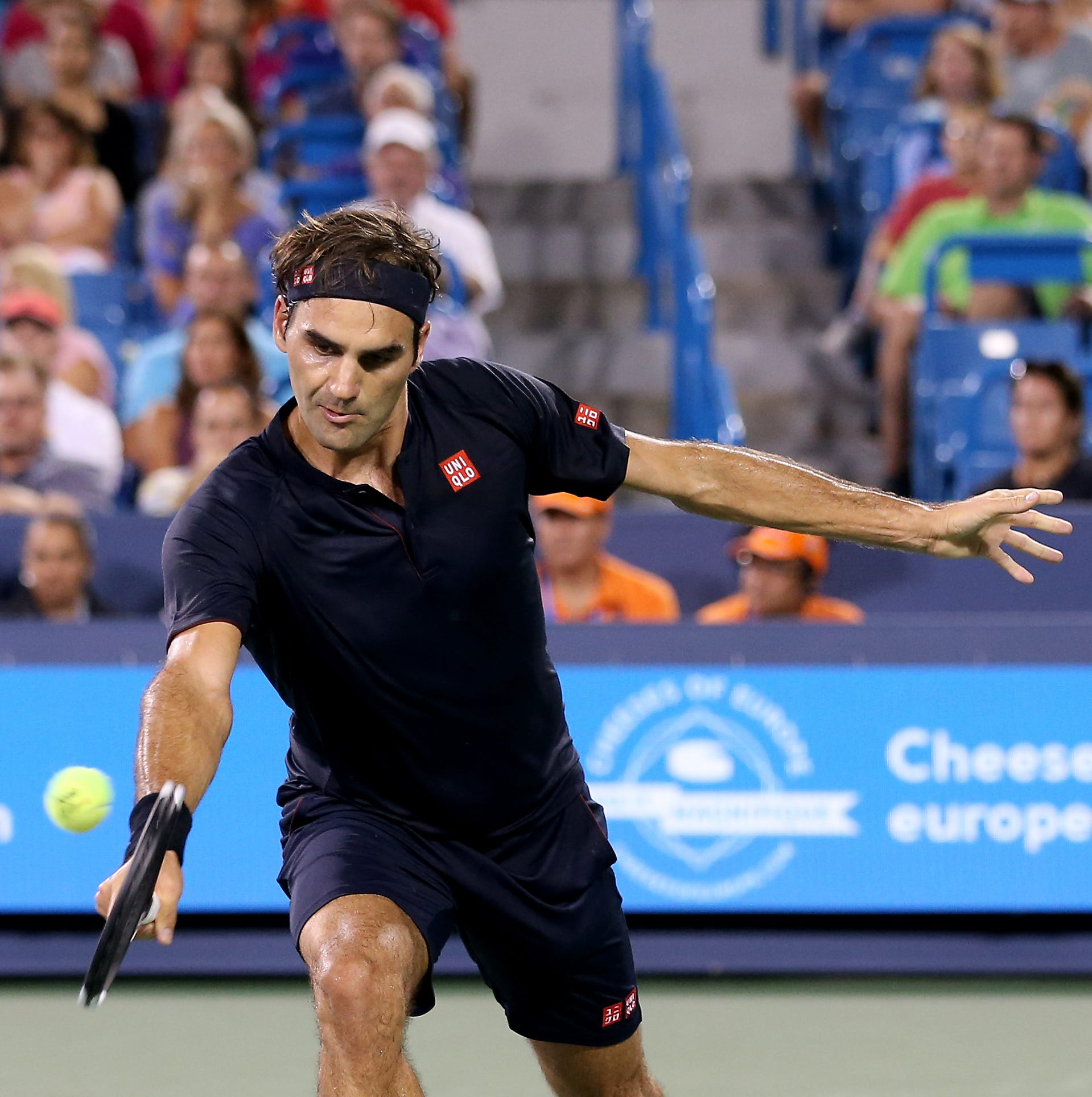 Roger Federer advances to Western & Southern final after David Goffin retires from semifinals