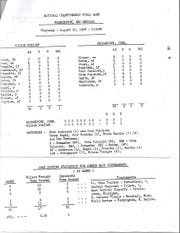 Here's the boxscore from the 1968 Connie Mack World Series championship game.