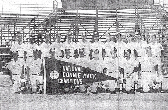"""Wilson Freight won the 1968 Connie Mack World Series in Farmington, New Mexico, becoming the first team """"East of the Mississippi"""" to achieve the feat."""