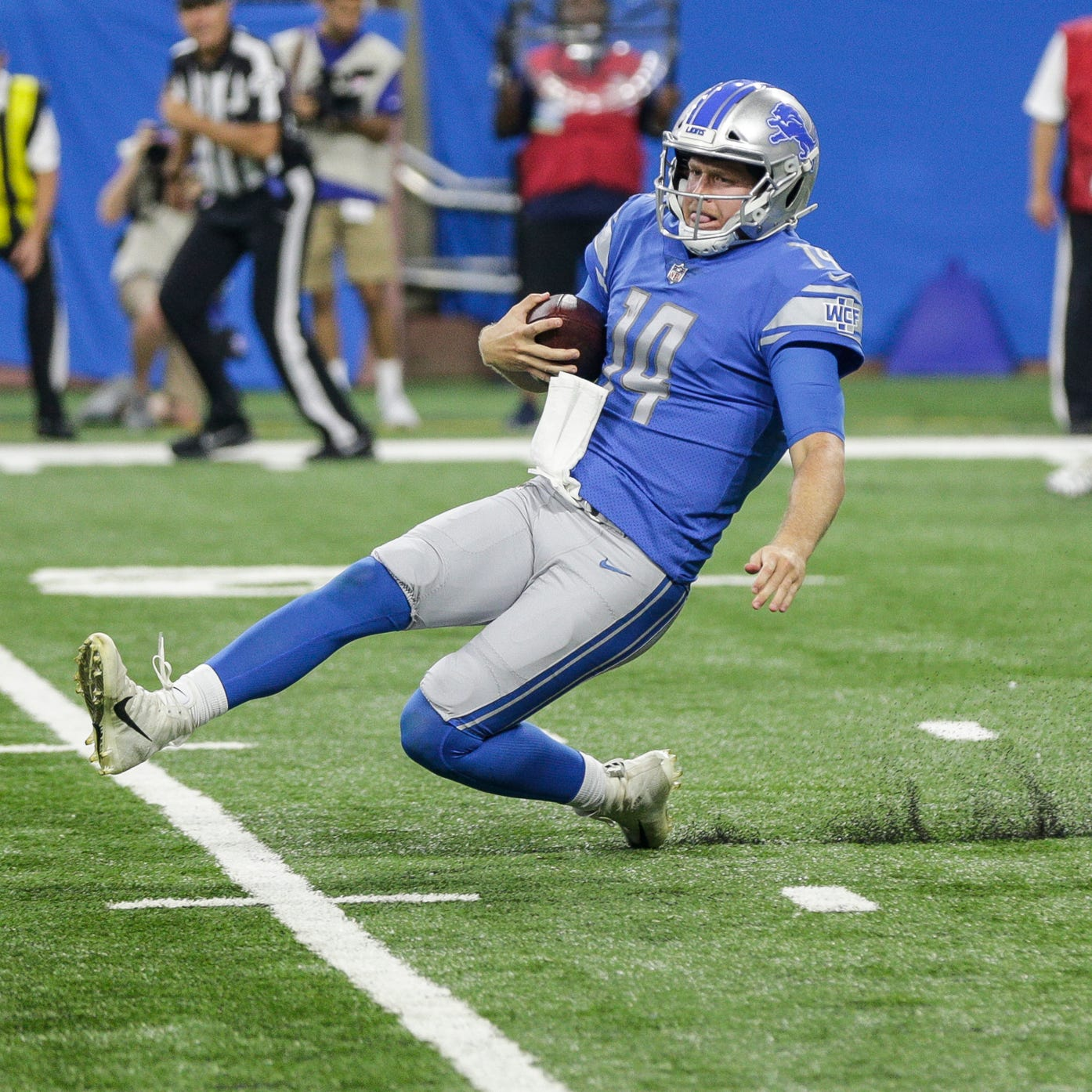 Detroit Lions backup QB race: Jake Rudock plays well, but isn't happy