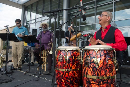 Cuban-style band Aguanko performs Saturday at the Cube.