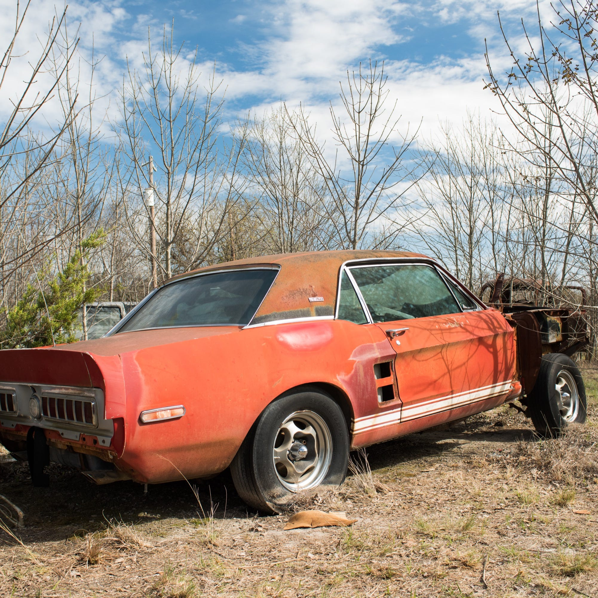 1st Mustang Shelby GT 500 found; experts crowd-source its history