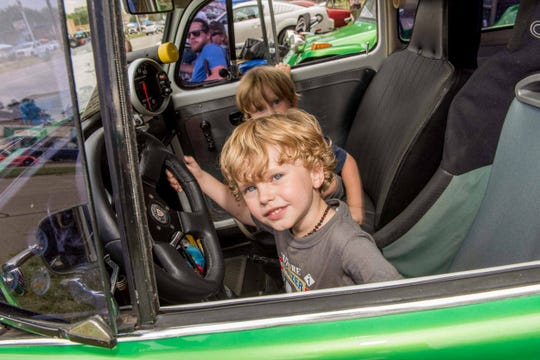 Tens of thousands of classic car enthusiasts filled Woodward Avenue from Pontiac to Ferndale for the Woodward Dream Cruise on Saturday, August 18, 2018.