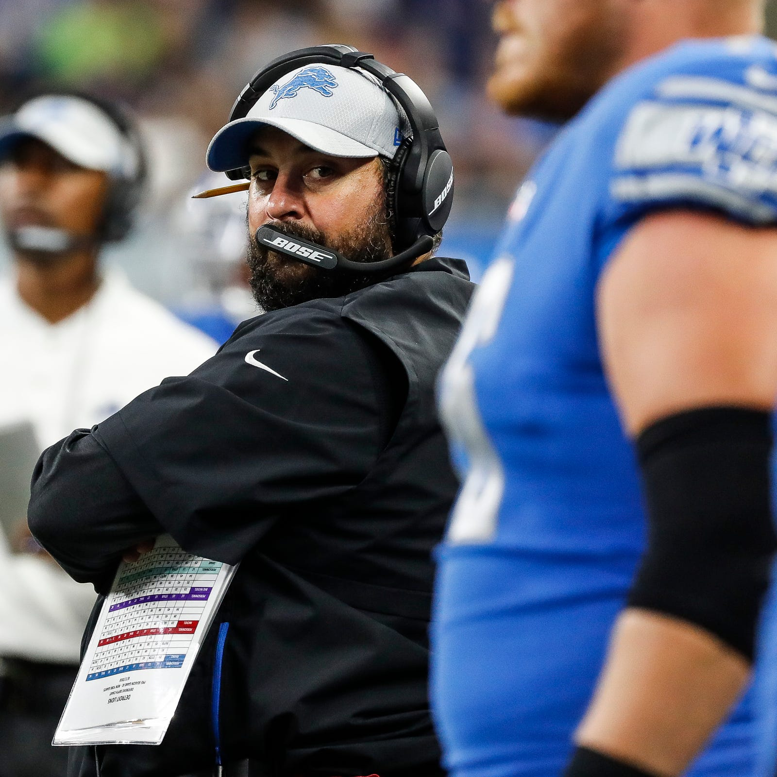 Matt Patricia did something few Lions coaches have done recently — coach