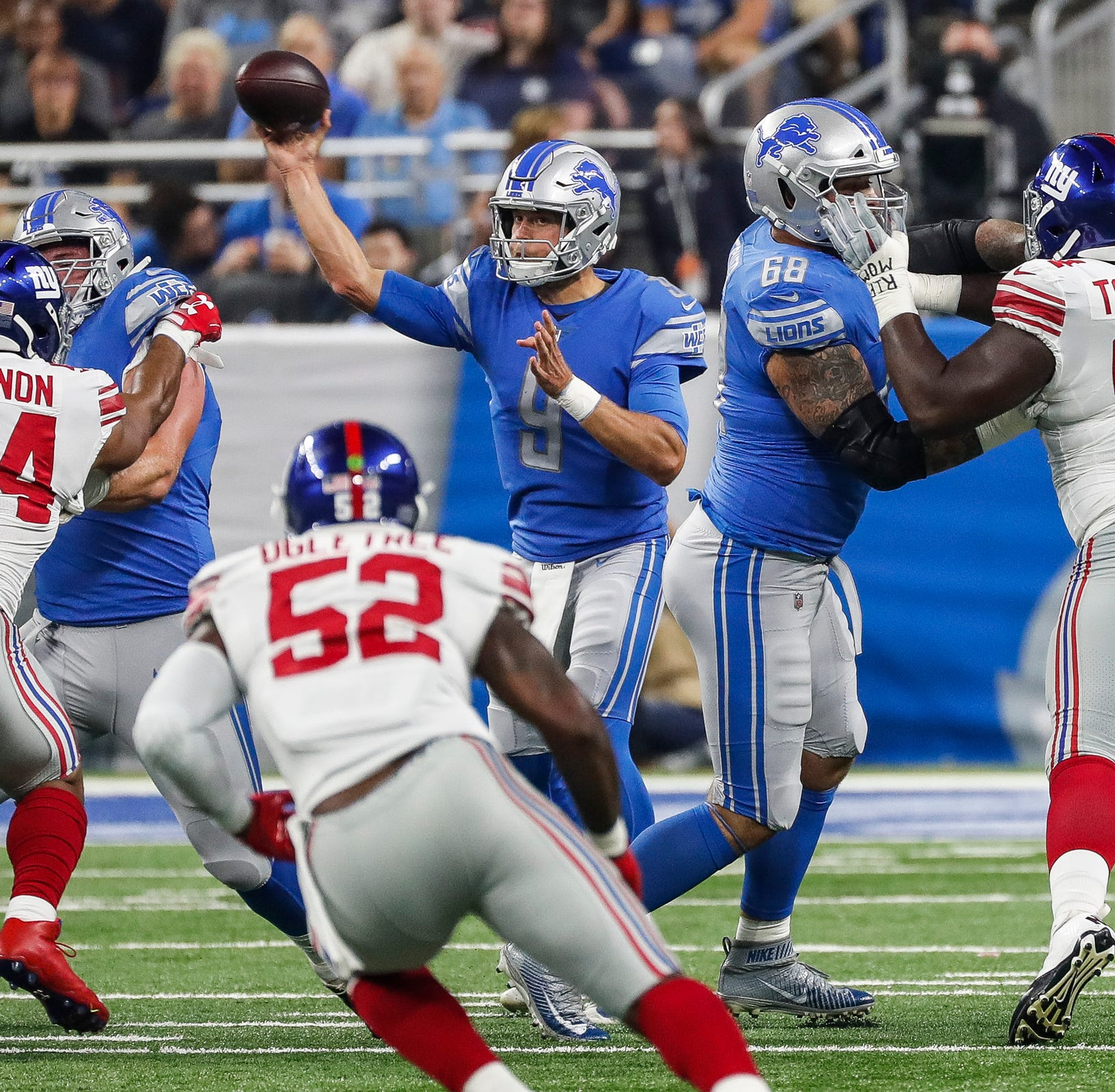 Detroit Lions-N.Y. Giants observations: Kenny Golladay No. 2 receiver