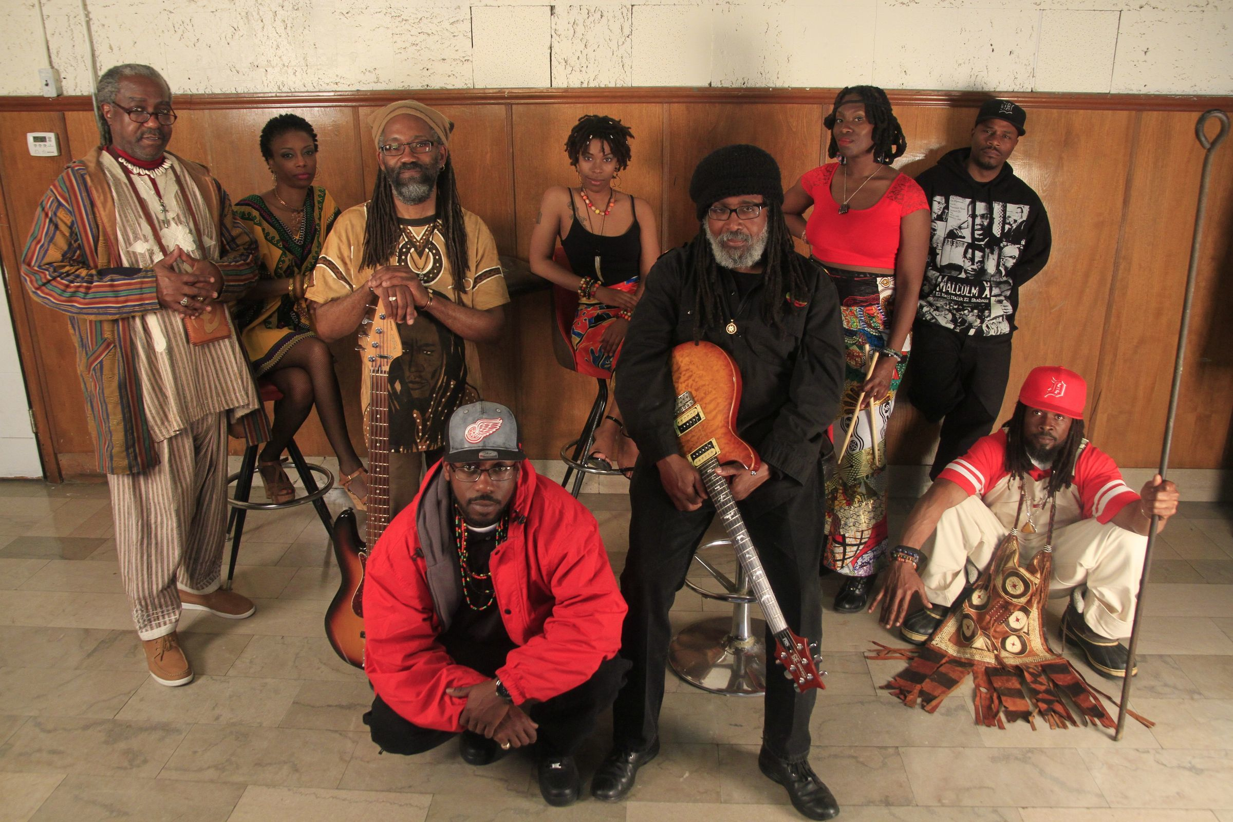 Mollywop!, which mixes reggae, rock and classic funk, performs Saturday at Detroit Rep's Summer Arts & Culture Festival.