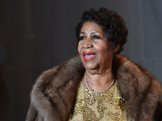 Aretha Franklin died of pancreatic cancer in August at the age of 76.
