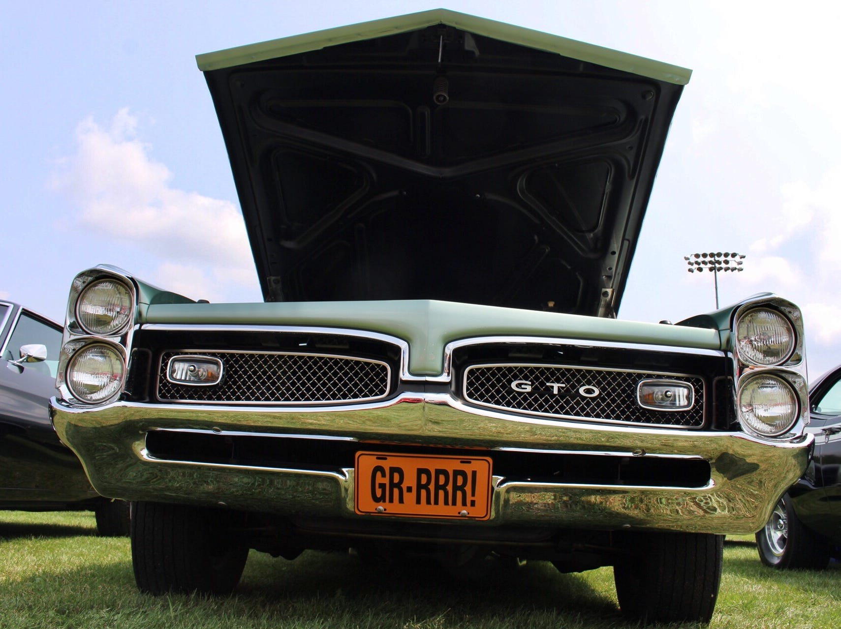 This 1967 Pontiac GTO is ready to prowl.