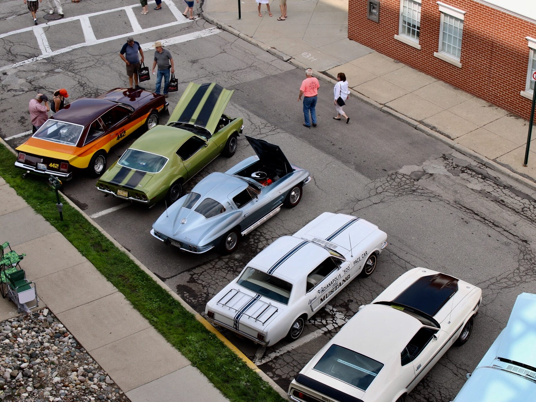 Classic cruisers take over the streets of downtown Birmingham.
