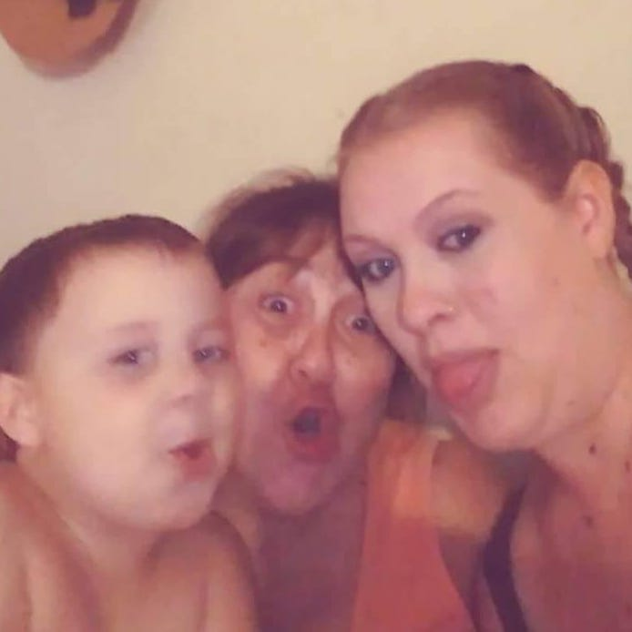 """Donald """"Bub"""" Ross Jr., Angelina Baker and Kaira Chapman were inseparable before they died in a house fire Aug. 11."""