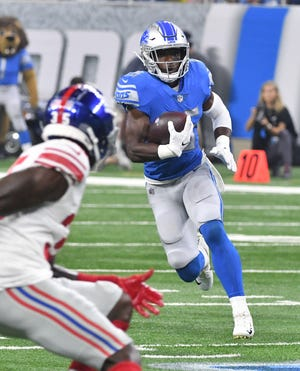 Lions running back Theo Riddick has been ruled out for Sunday's game.