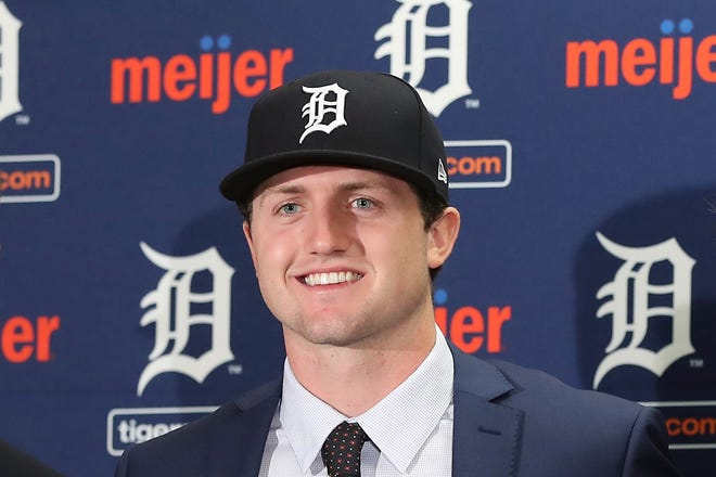 Detroit Tigers No. 1 overall pick Casey Mize