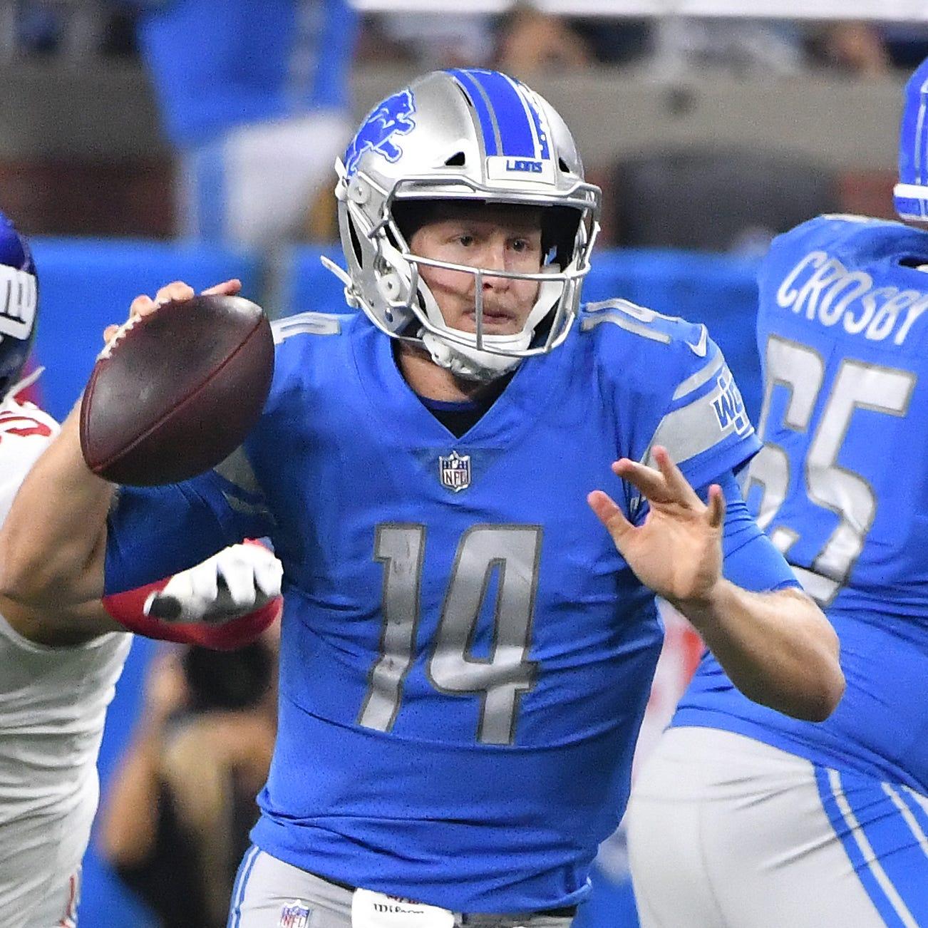 Lions stock report: Rudock rises, Decker drops