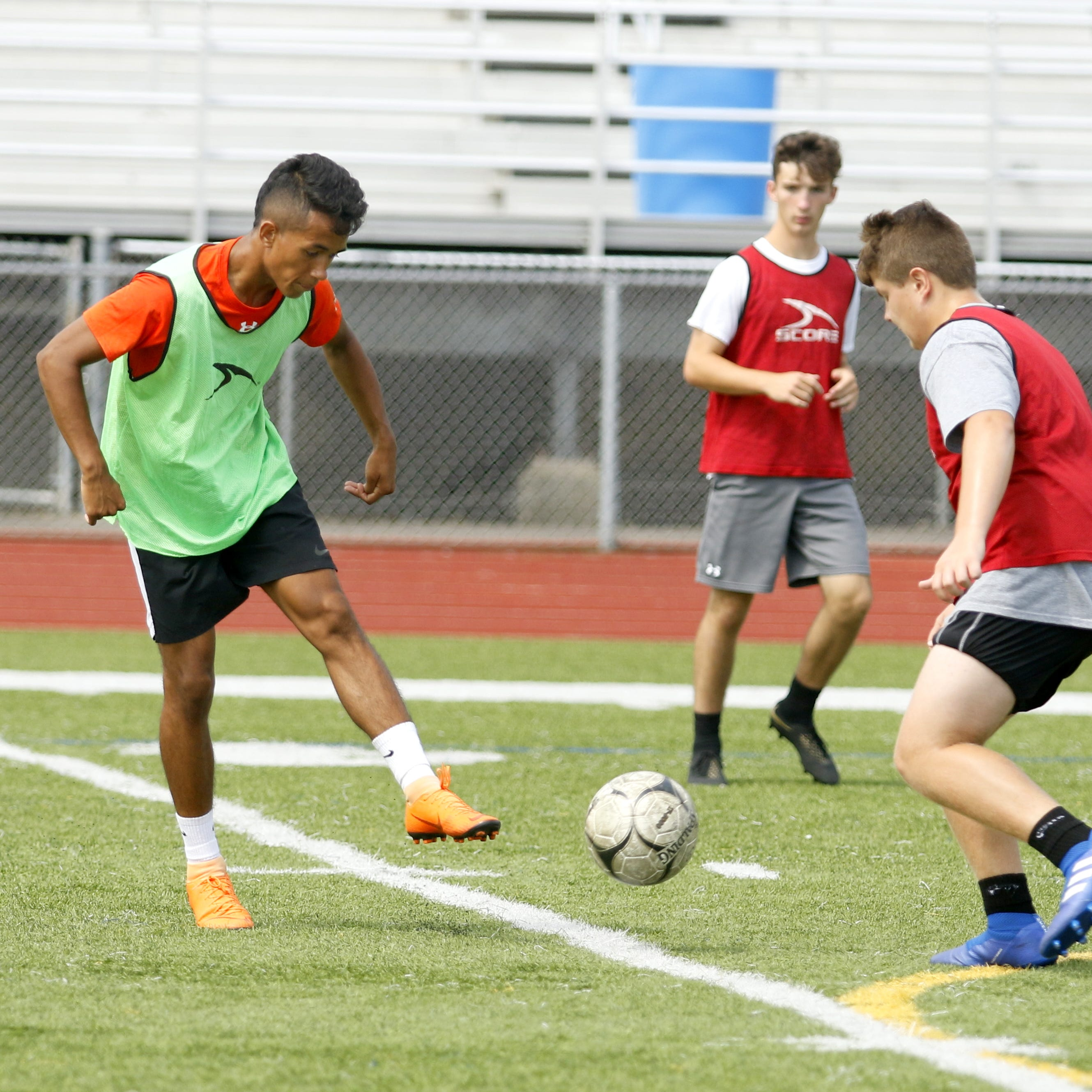 Boys soccer: Express boasts offensive firepower after sectional runner-up finish in 2017