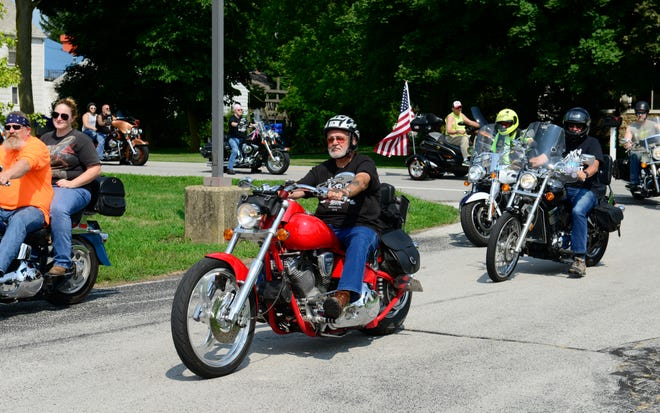 Hundreds of motorcyclists participated in BADD Fest on Saturday, organized by Bikers Against Doing Drugs.