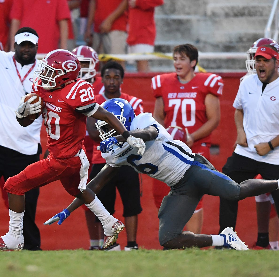 Wakefield, new receivers step up for Greenville against Woodmont
