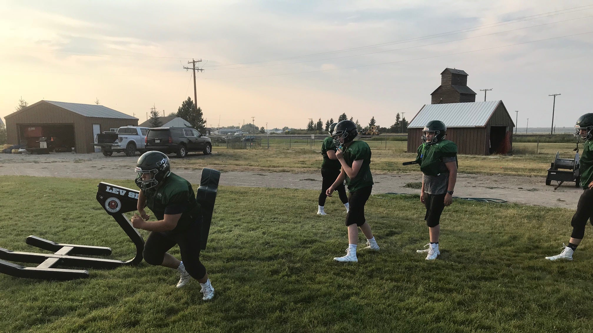 The Tri-City Titans are chomping at the bit, wanting to start hitting someone other than themselves in the Southern C Division of Eight-Man Football.