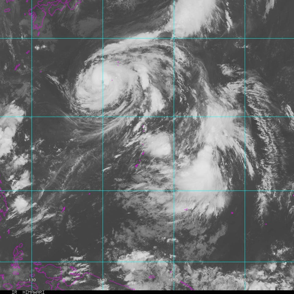 Tropical depression forms east of Guam, expect heavy rain