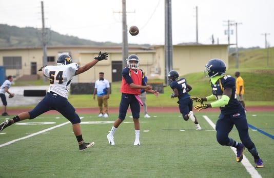 Guam High Scrimmage 16