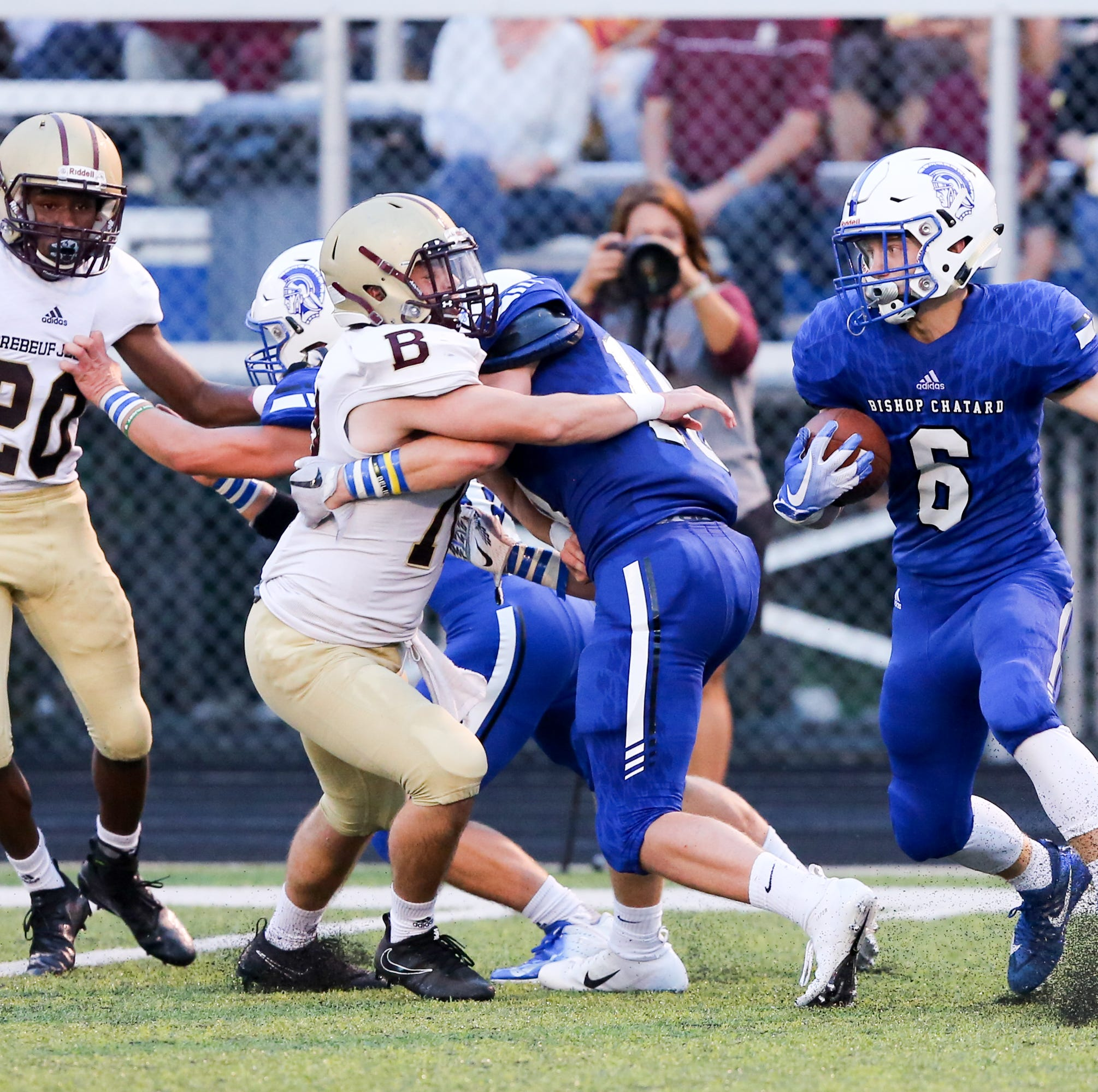 Bishop Chatard football gets first 'home' win in school's 57-year history