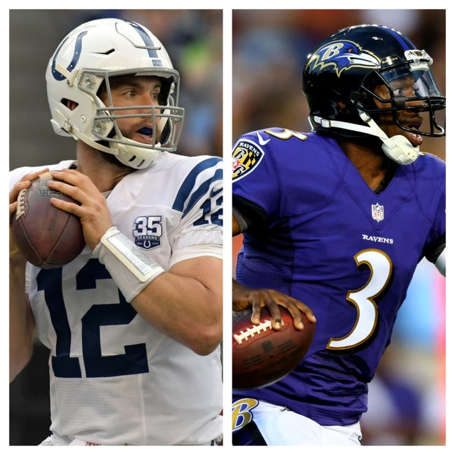 The top two picks in the 2012 NFL Draft, Andrew Luck and Robert Griffin III, are each writing comeback stories of their own this preseason.