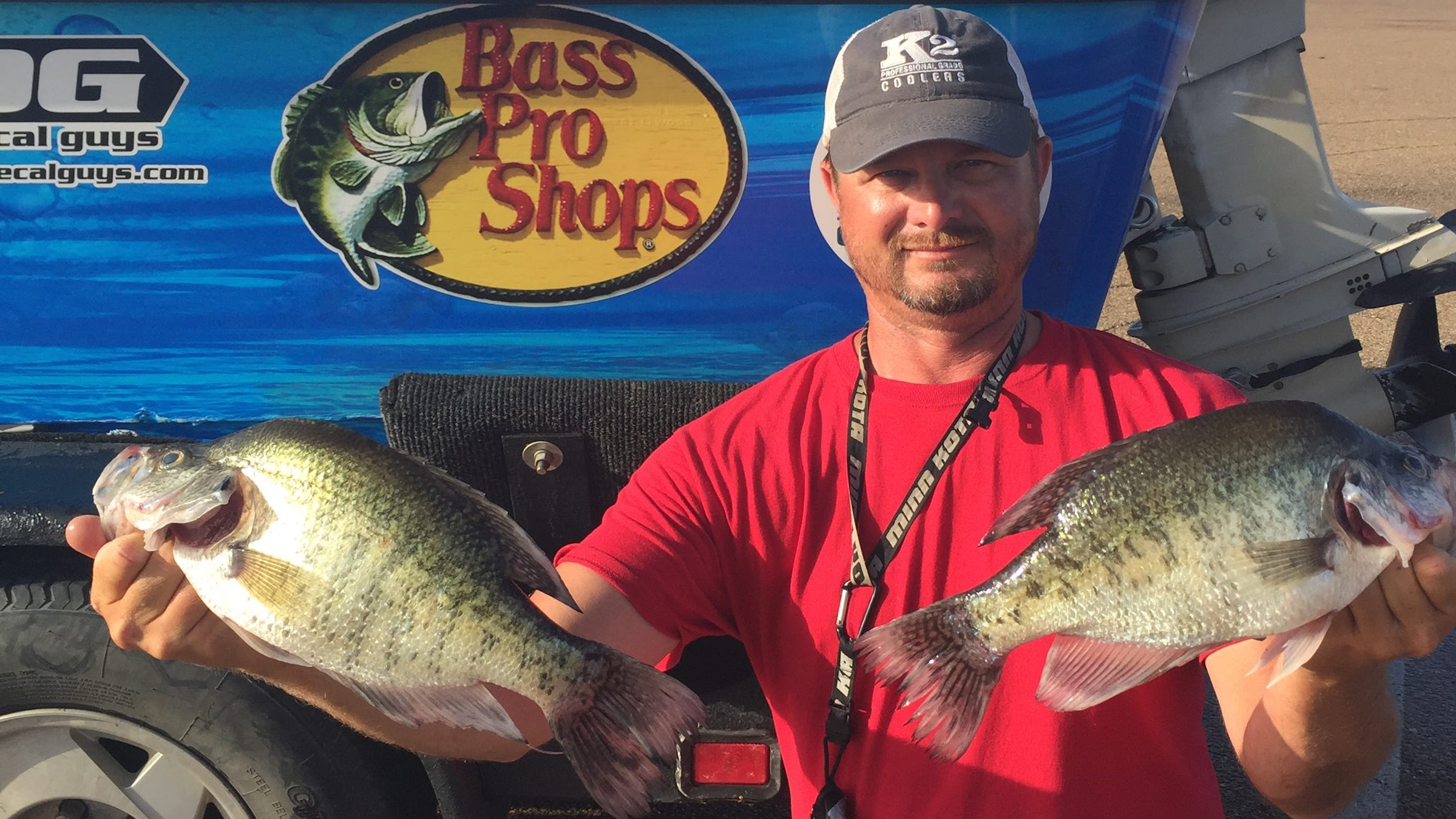 August: High temperatures and hot crappie action