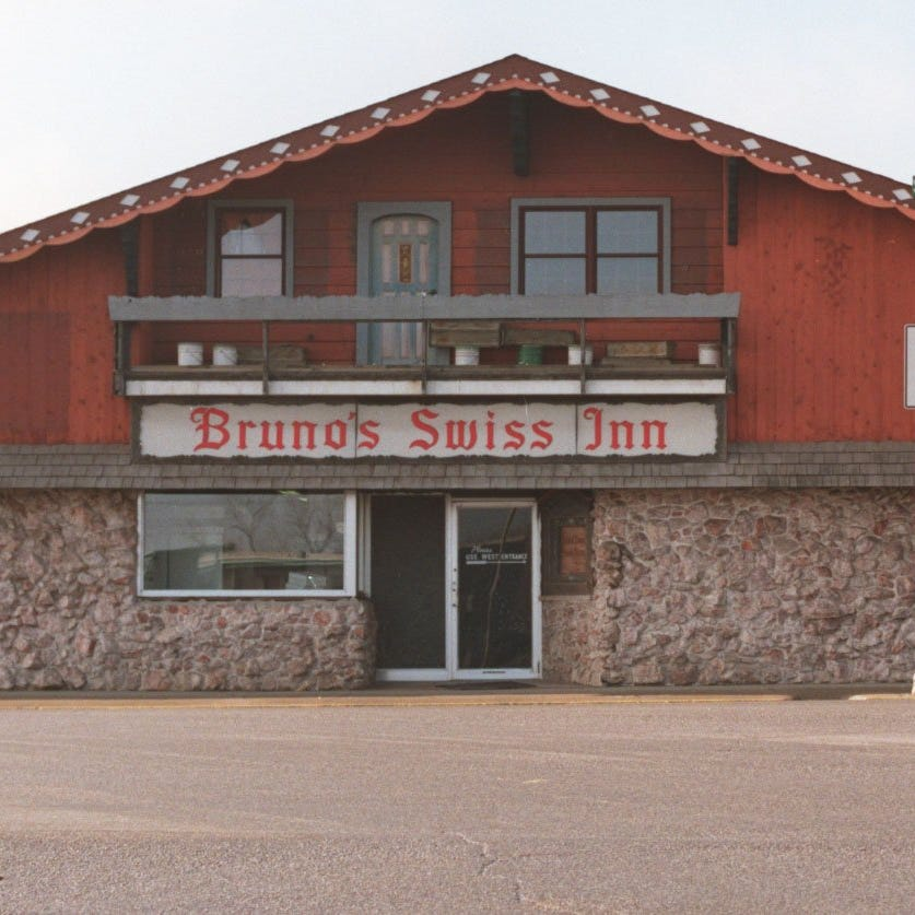 In this 1998 photo, Bruno's Swiss Inn was shown the week before it closed and moved a block away to Brown Street in the West Lafayette levee area. Construction of the US 231 bypass forced the move.