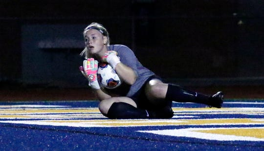 Lancaster defeated Fairfield Union 1-0 during a girls soccer match Friday night, Aug. 17, 2018, at Fulton Field in Lancaster.