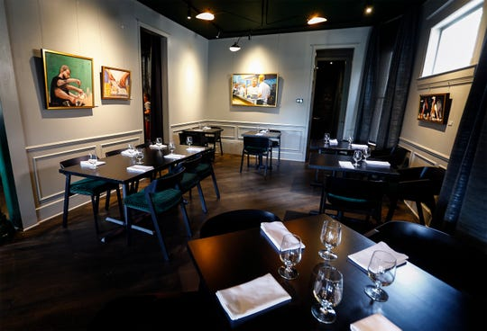 Kelly English, owner/chef of Restaurant Iris, did a total remodel of the concept and space. The restaurant reopened Wednesday, which was also English's 40th birthday.