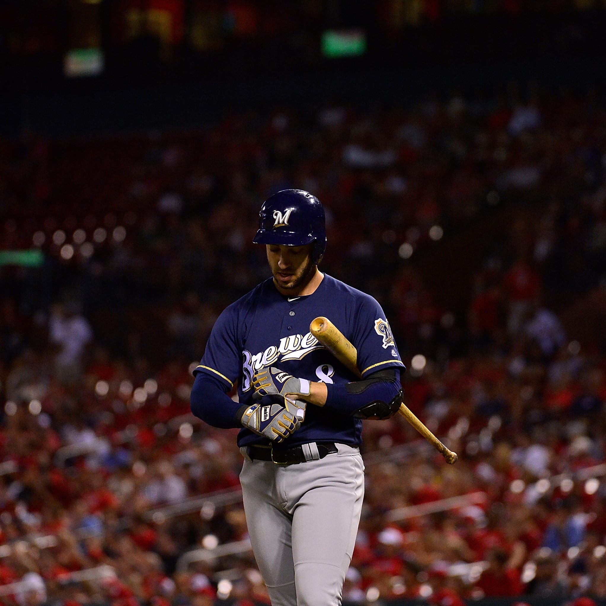 The Brewers will not get to the postseason playing like this. That much is quite evident.