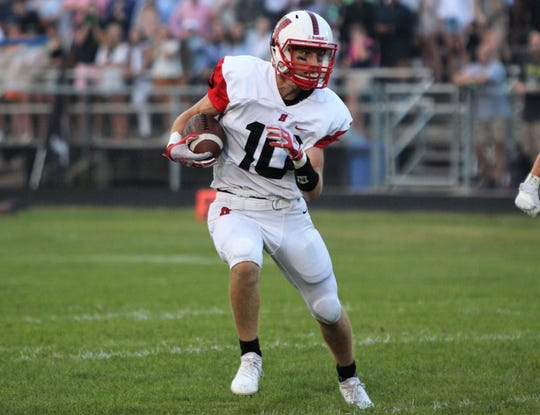 Jared Schneider and Homestead take on Grafton in Week 3.