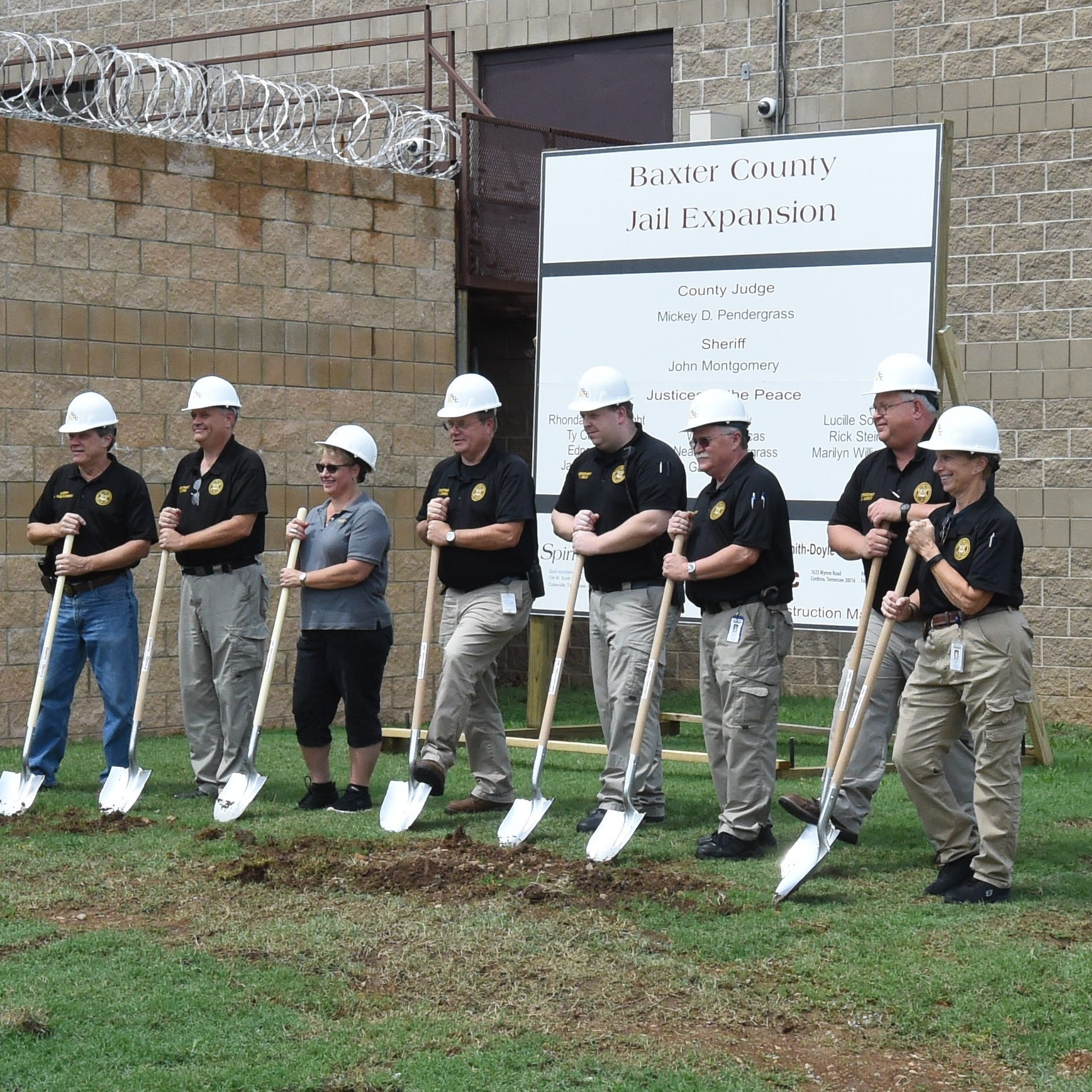 Groundbreaking kicks off jail expansion