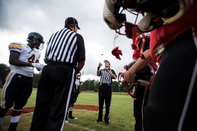 Lee County public high schools will not host football games Thursday and Friday due to an officials work stoppage.