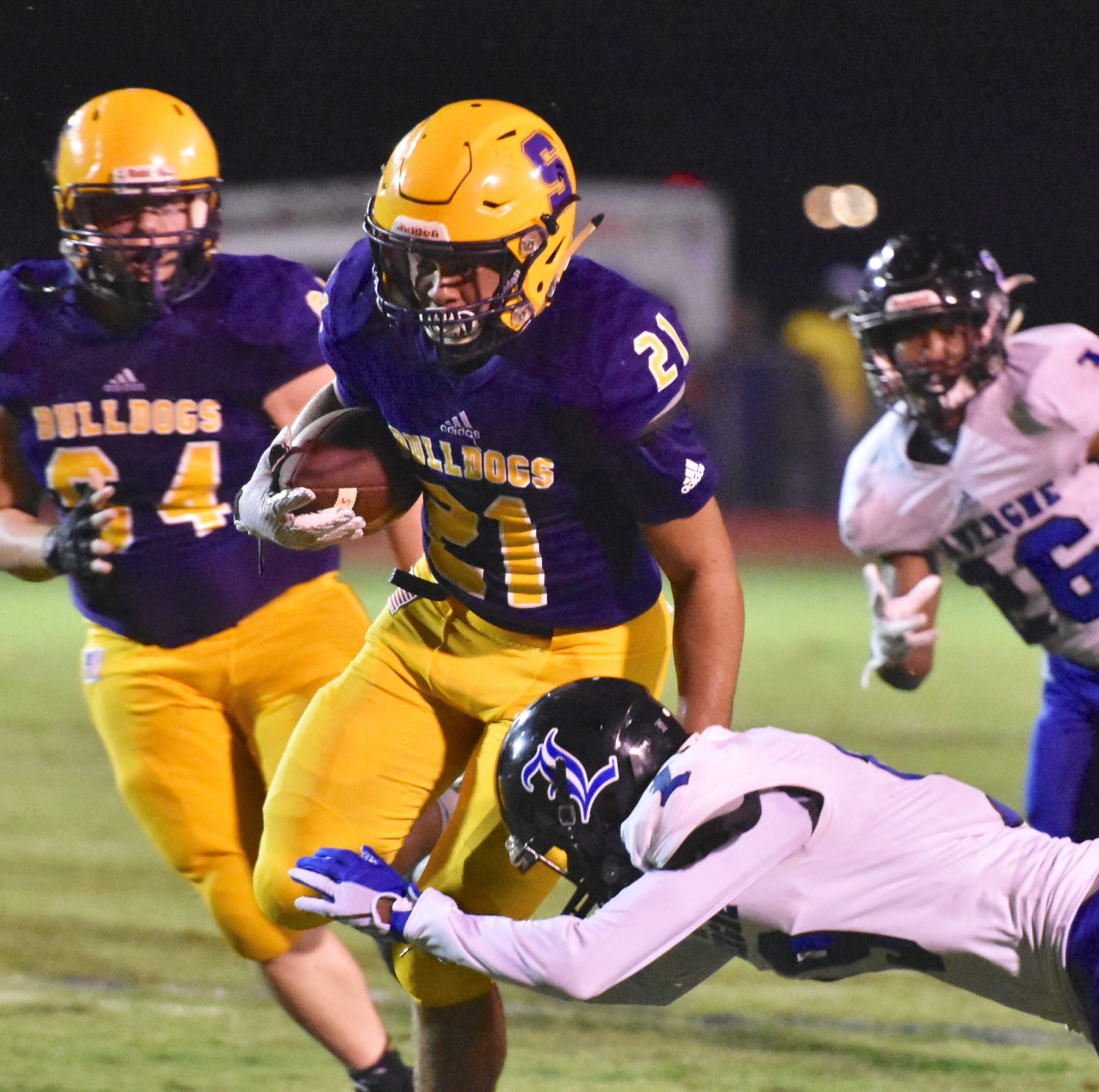 Smyrna defense lives up to hype during shutout over rival La Vergne