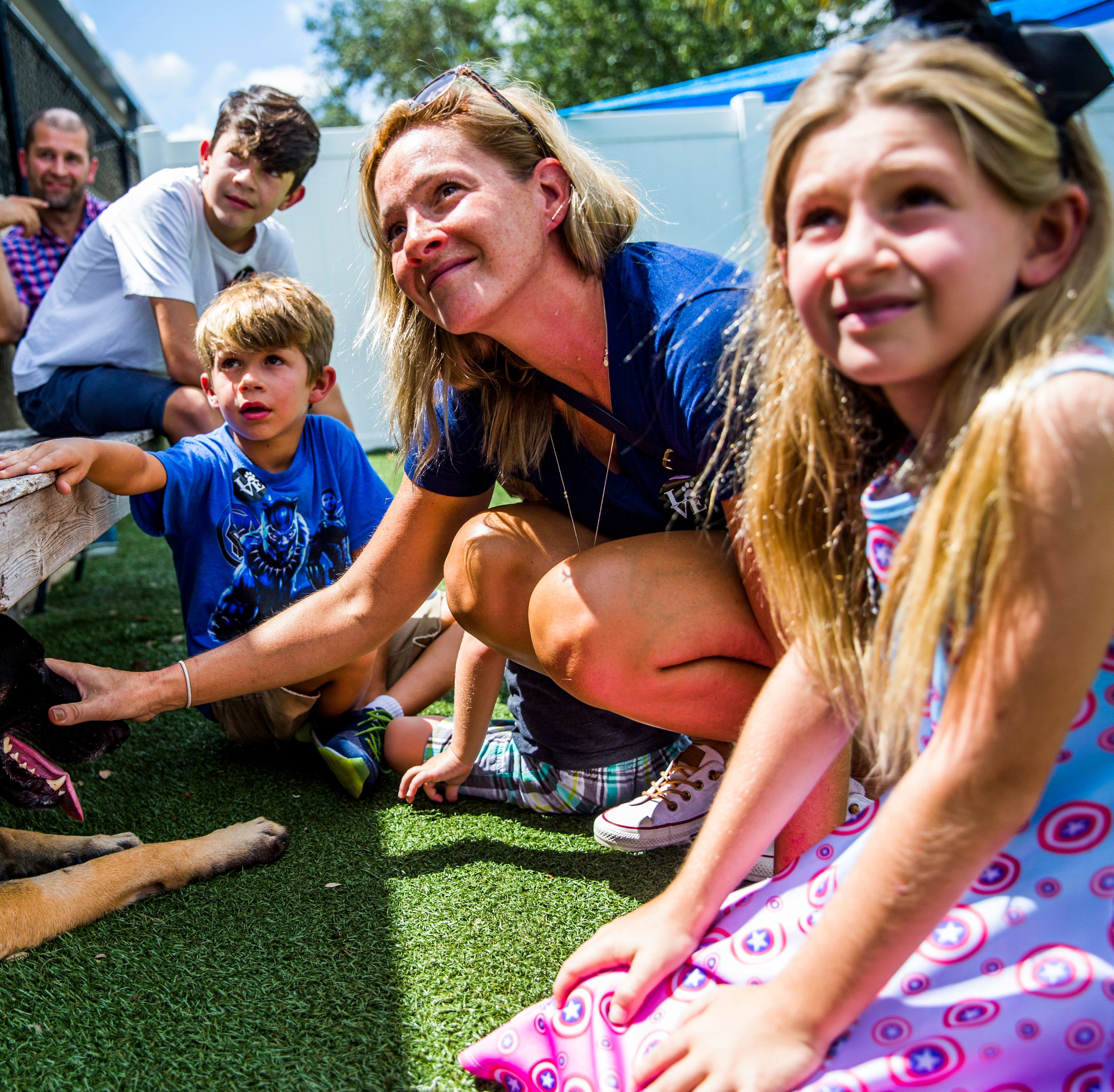 Dozens of animals adopted from Humane Society Naples in one special day