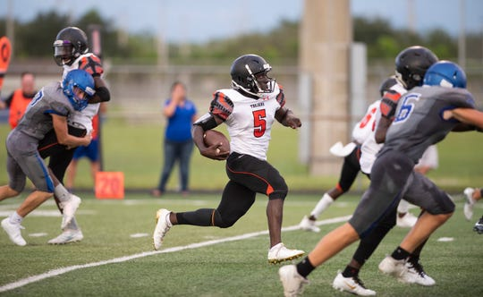 Senior running back Henderson Francois has provided a big chunk of Lely's offense this season, scoring four of the team's five touchdowns.