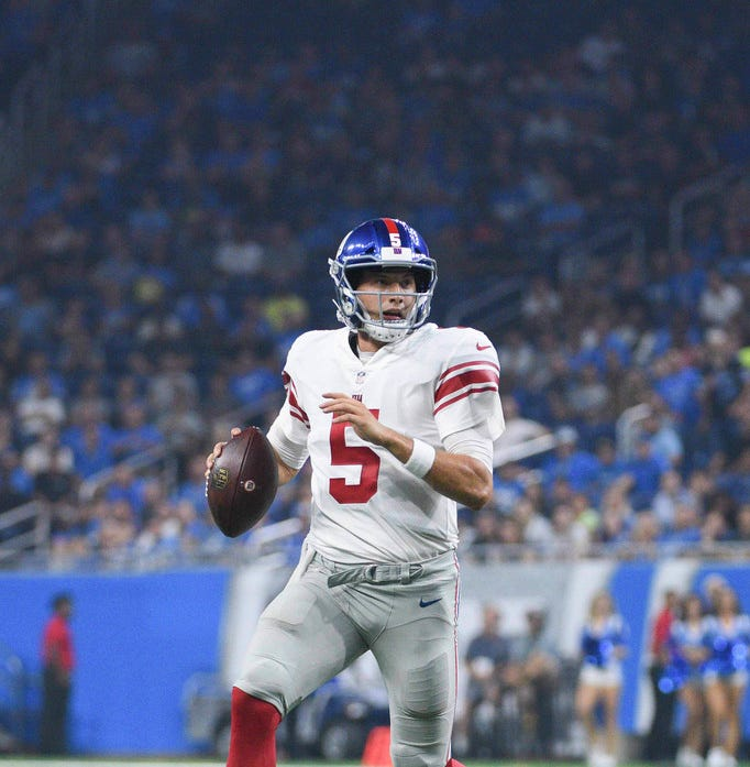 NY Giants: Davis Webb gets start and bounces back in big way after last week's struggles