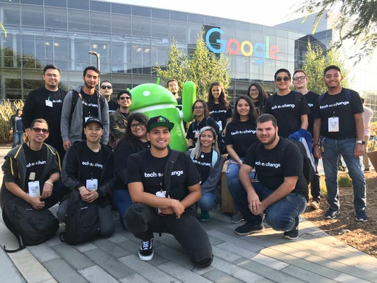 NMSU computer science students join students from UT El Paso and California State University, Dominguez Hills at the Google campus in San Francisco to take classes for the fall semester as part of a pilot project.