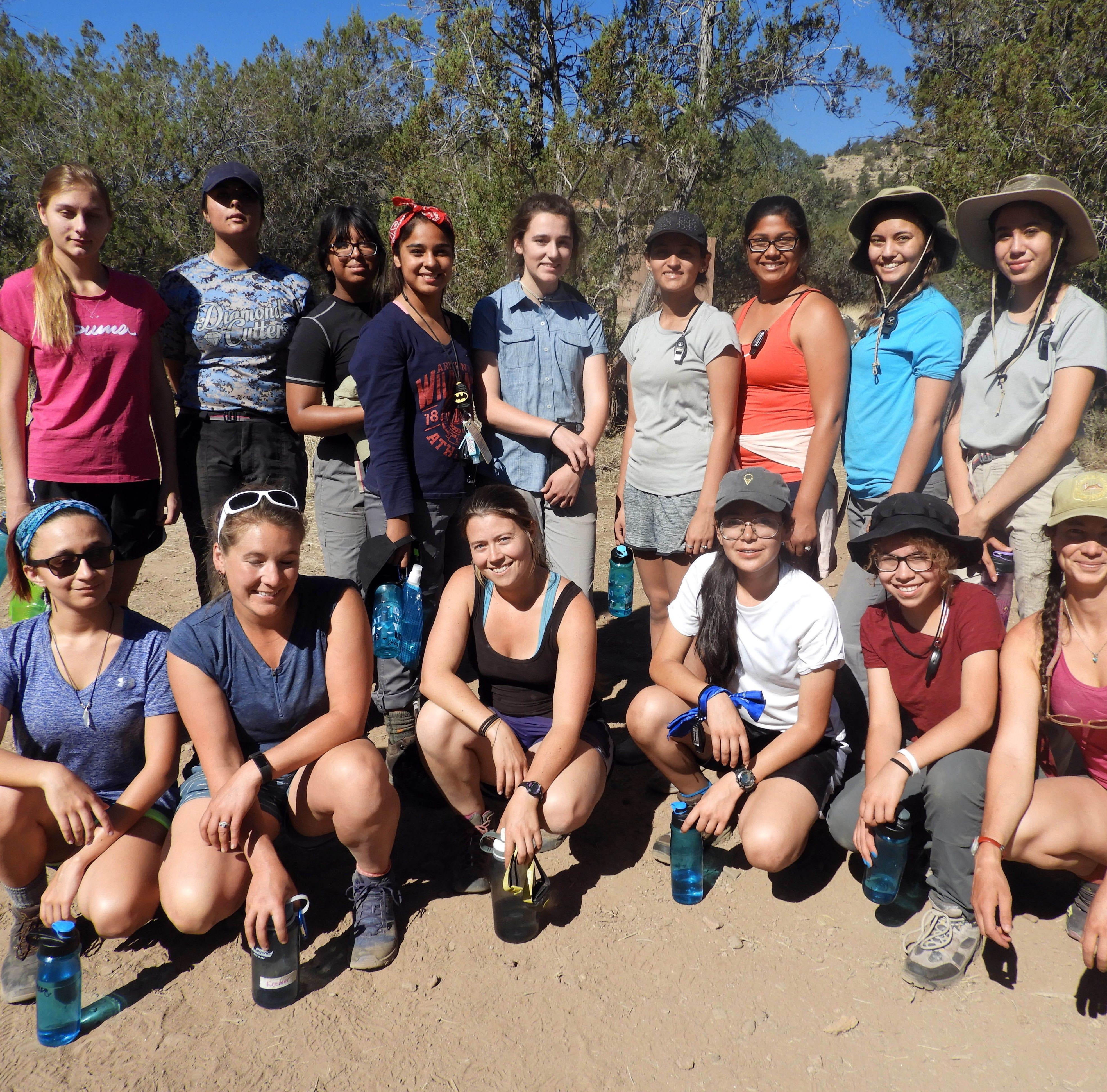 NMSU GALS program empowered teenage girls through backpacking trip