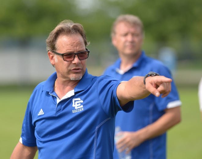 Detroit Catholic Central coach Gene Pulice and his team will try and defend their MHSAA Division 1 state championship after going 21-2-4 last season.