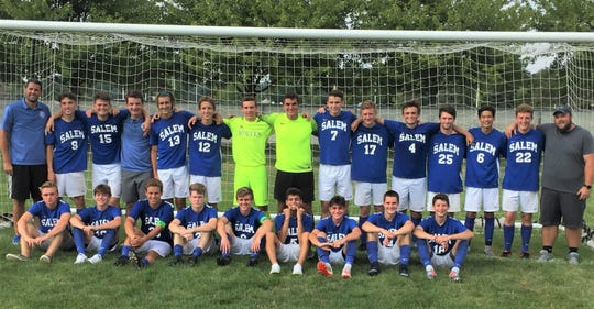 Salem went 3-0 on the day to win the eight-school Balconi Invitational boys soccer tourney.