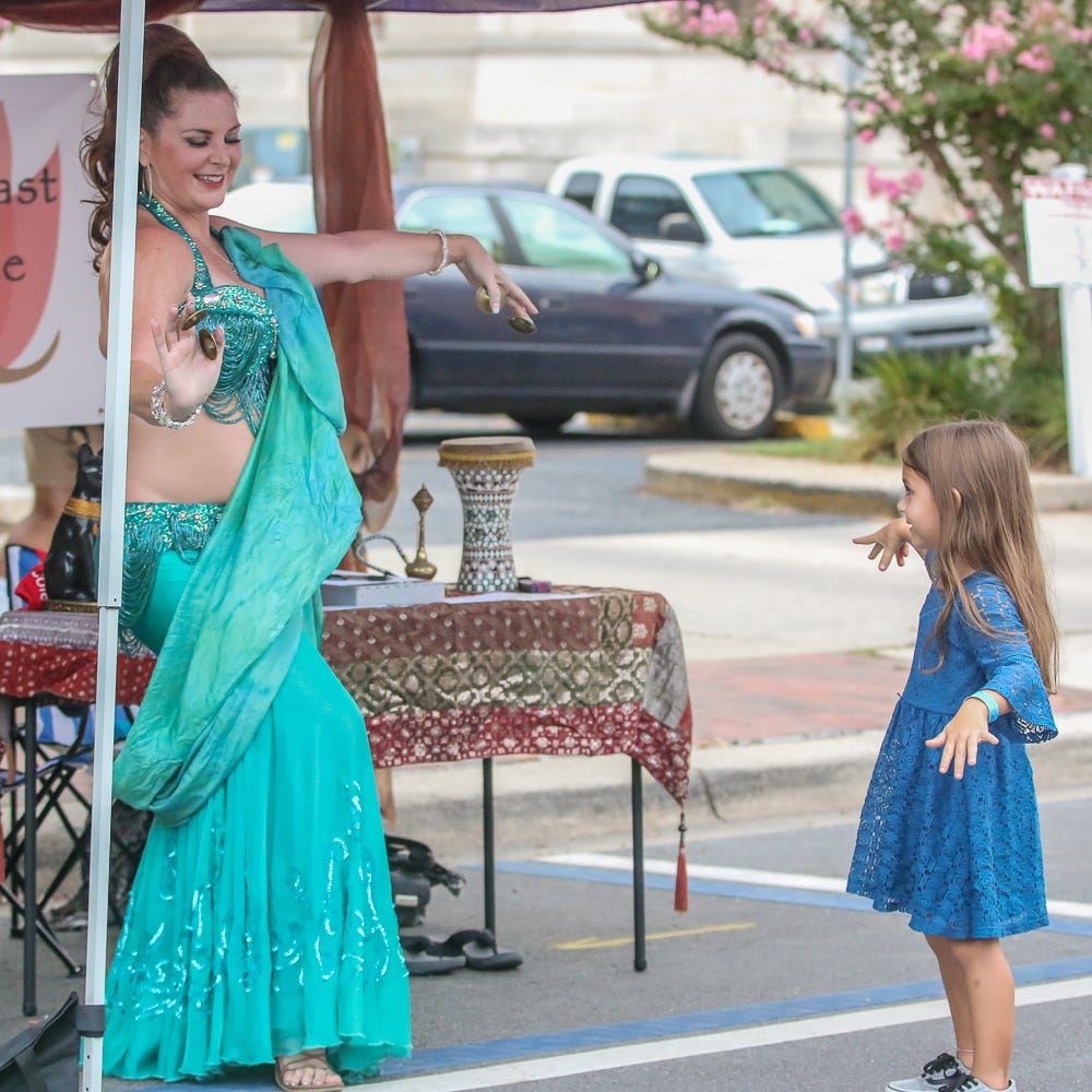 PHOTOS: Downtown Pensacola Gallery Night delights on hot August night